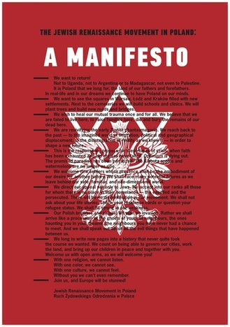 Manifesto of the Jewish Renaissance in Poland (JRMiP)